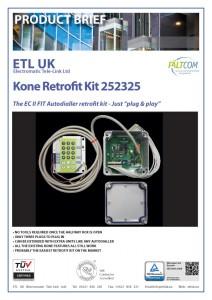 Retrofit Kit 252325 Kone