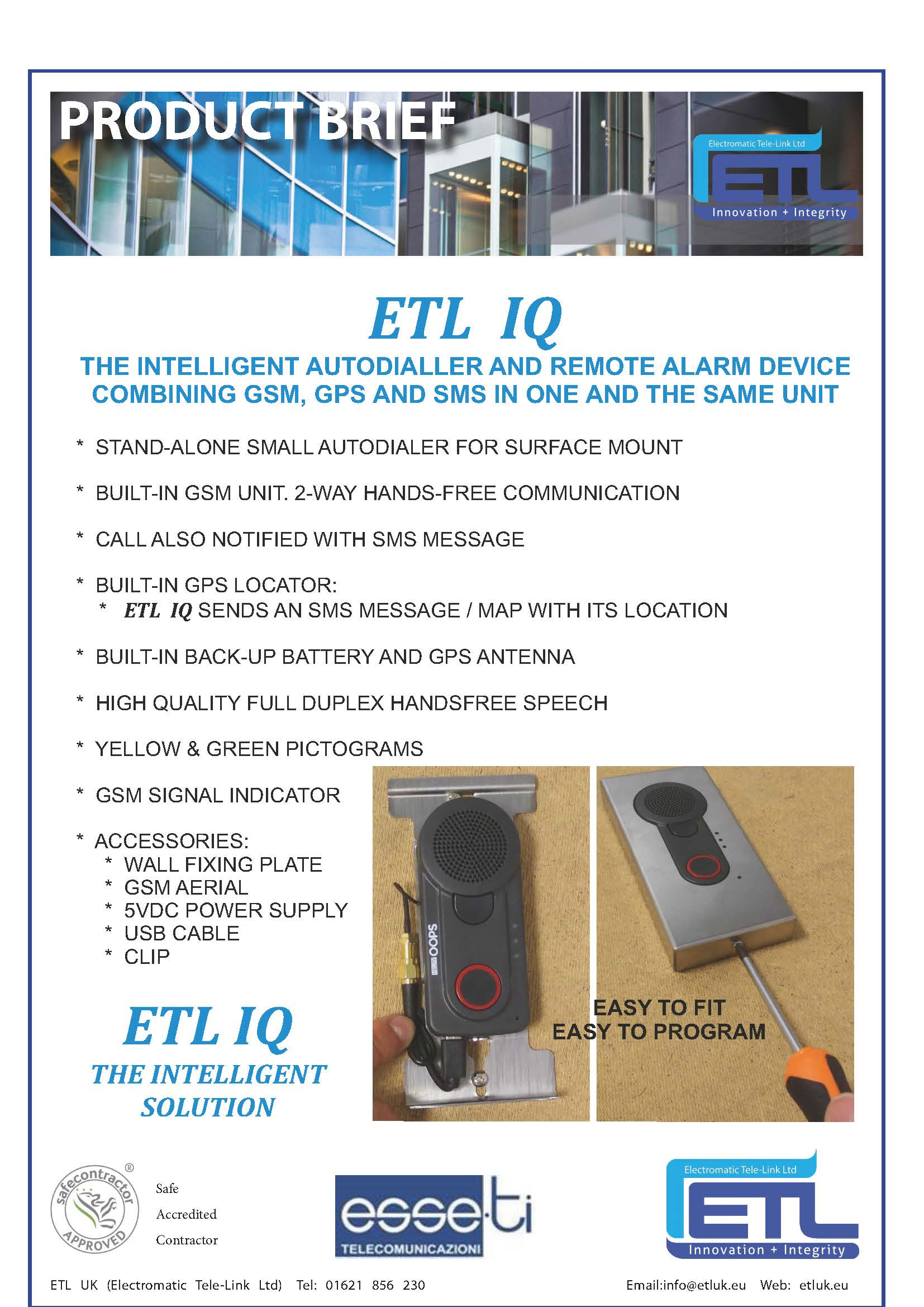 ETL IQ Product Brief
